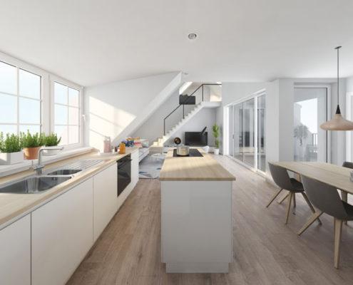 nieuwbouwproject antwerpen keuken
