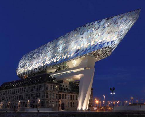 Antwerpen haven huis nieuwbouwproject