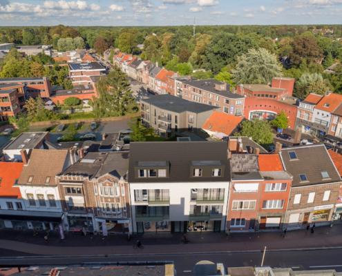 Kapellen Dorpsstraat nieuwbouw