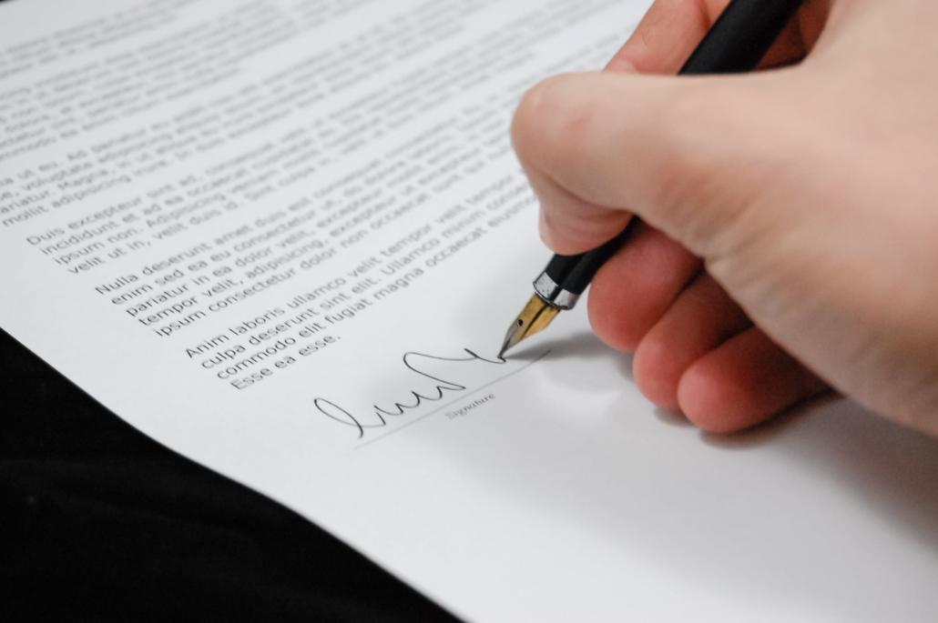 Een huurcontract lijkt logisch, maar  zorg ervoor dat het zo compleet en duidelijk mogelijk is.
